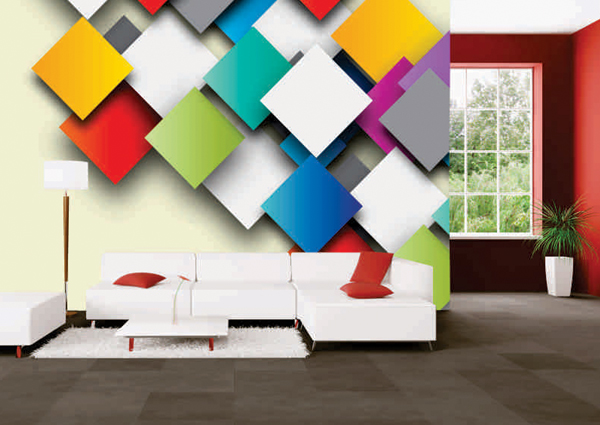 3d wallpapers 3d customized wallpaper for home wall for Wallpaper design for office wall