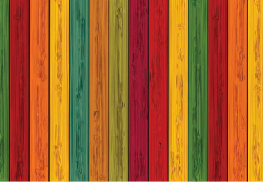 colouful-wooden-logs